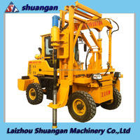 HOT Bore Pile Machine for Highway Safety