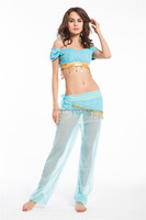 walson Instyles Women New Belly Dance Costume Bra and Belt Set Indian Dancing Clothes