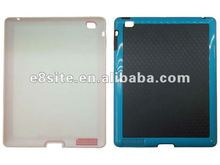 Stylish Design TPC Case With PC Frame For The New iPad 3