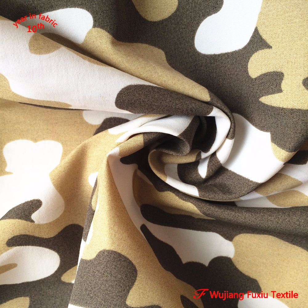 STOCK LOT camouflage printed 228T <strong>nylon</strong> taslan board shorts fabric