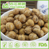 Nutritious Black Pepper Roasted Chickpeas