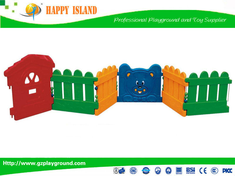 Factory Price CE GS SASO Food Grade Material Swinging Ball Pool Kids Outdoor Plastic Fence