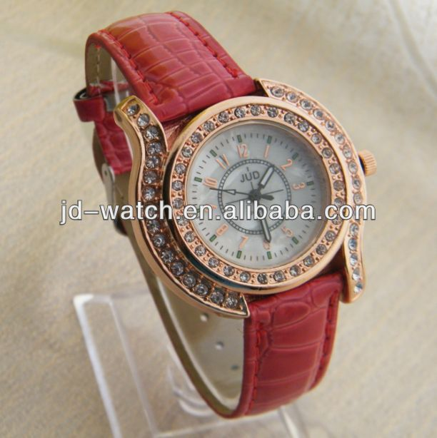 leather watch omax ladies watch