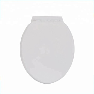 None soft close round shape toilet seat cover