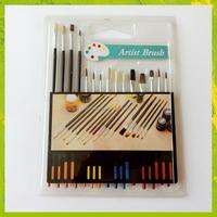 Wholesale Art Supplies Watercolor Acrylic Bristle Paint Brush, Paint brush manufacturers China, artist paint brush