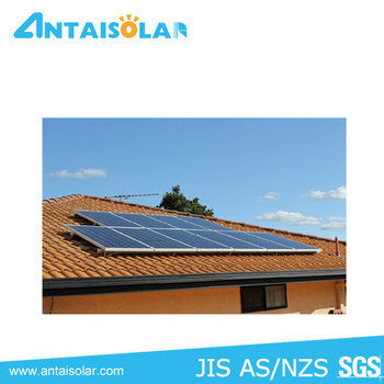 Pitched Tile Roof Tin Roof Solar Energy Mounting Tracker