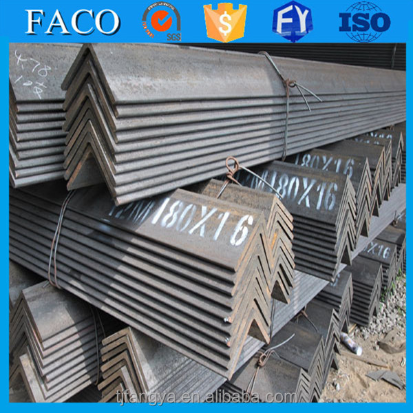 Fangya Angle Steel ! weight of ms angle s235jr s235jr75x75x7 carbon steel angle