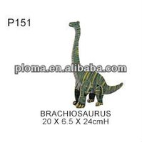 WOODEN MODEL (P151) BRACHIOSAURUS
