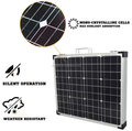 120w 12v folding solar charging kit for camper solar panel 100w foldable
