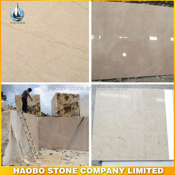 Newest Hot Sale Own Quarry for Mary Beige Marble Tiles And Slabs