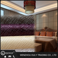 pu pvc synthetic leather home upholstery leather wall