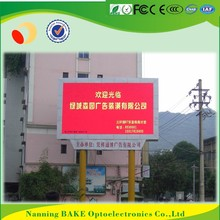 P7 outdoor smd billboard advertising led display Christmas countdown clock