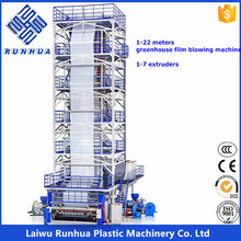 greenhouse blown film extrusion equipment