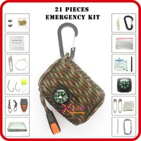 outdoor survival camping gear 2016 wholesale 72 hour emergency kit