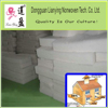 High R value polyester insulation batts
