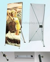 Economical butterfly type X banner stand