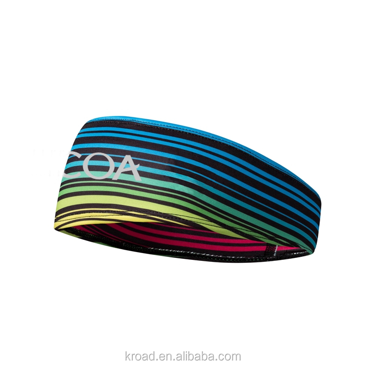 Custom quick dry running sports headband OEM yoga headband