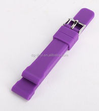 Custom made high quality silicone rubber watch band watch wrist straps
