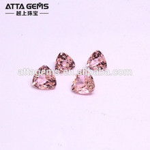 Nano morganite #45 pink dark and peach morganite gemstones hot sale