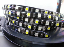 DC12V 5050 60led/m <strong>RGB</strong>+W/WW flexible led strip IP68 waterproof 3 years warranty