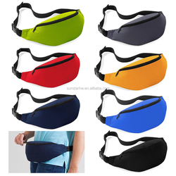 OEM quality polyester multi-colors travel waist bag