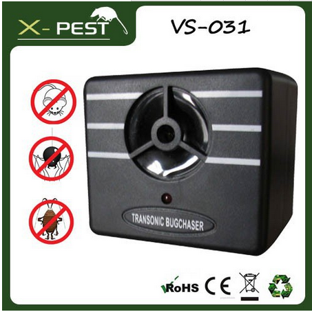 X-PEST Most popular Transonic Bugchaser Electronic used multiple insect/pest control equipment for home use