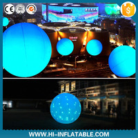 inflatable led balloon Nightclub club decoration color changing backpack balloon