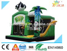 Hot new high quality mini inflatable bouncer castle panda house for sale