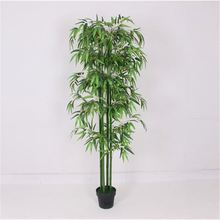 Wholesale excellent quality office use artificial bamboo tree