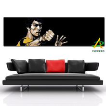 Digital Canvas Prints Bruce Lee oil painting Prints Painting on canvas Framed Pictures Decor For Living Room