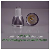 Buy 5w gu10 smd dimmable gu10 led spotlight 120 degree beam angle ...