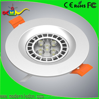 high class 3 inch 7w silver ceiling light 2x2 led drop ceiling light panels