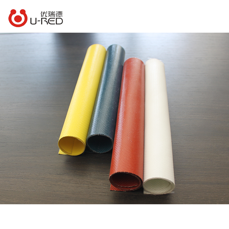 Hot Sale Fireproof Liquid Silicone Coated E Glass Fiber Fabric