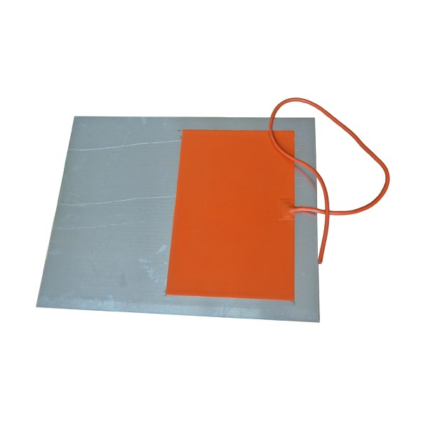 Waterproof Silicone Heating Sheets Car Heater Solar Silicone Rubber Heater For Electrical Heating