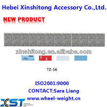 iron stick on wheel balancing weights automatic production