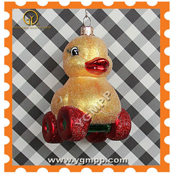 YGM-ST019 Luxury Christmas Duck Ornaments