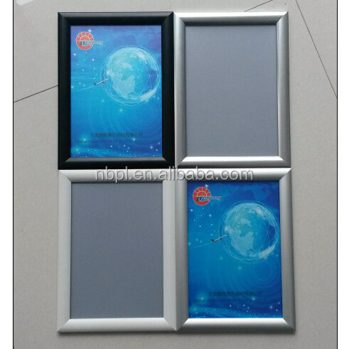 High quality A1 A2 A3 A4 aluminum black snap frame <strong>poster</strong> display board
