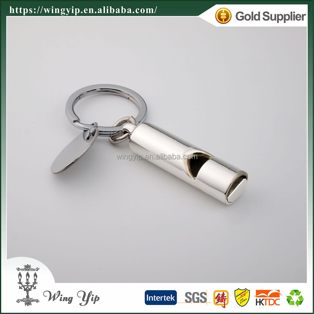 Wholesales Tailor made Whistle Blank 3D Key Ring