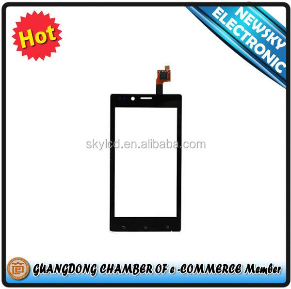 100% Tested Moblie Phone Original Parts Touch Screen Digitizer For Sony Xperia Tipo ST21i