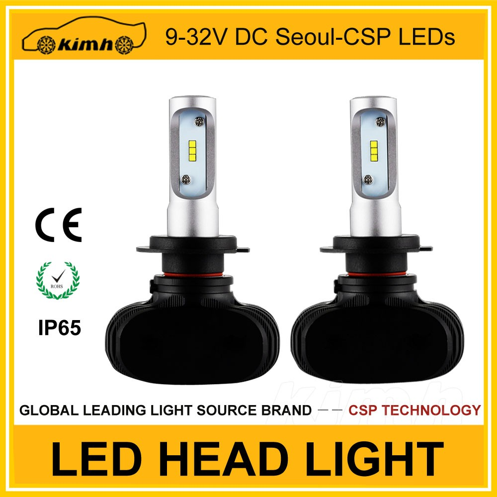 car accessories 12v led bulb led 2000lm headlight