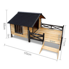 Top selling new wooden large outdoor pet dog house