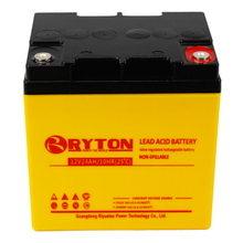 RYTON Power professional deep cycle long life batteries 24ah 12 volts for 96 volt install solar system
