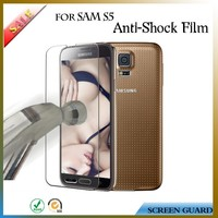 Mobile accessory screen anti-shock film/protector for Samsung galaxy S5
