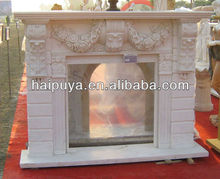carving marble fireplace mantels