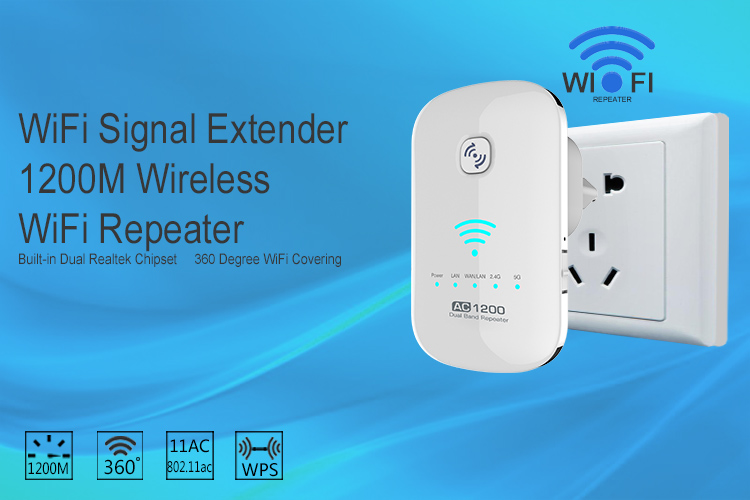 Replaceable Plug Wifi Repeater. Wireless Signal Range Extender - Buy ...