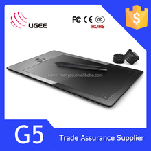 Ugee G5 USB Inch Drawing Pad for Computer 2048 Pen Pressure Sensitive 8G Memory Capacity