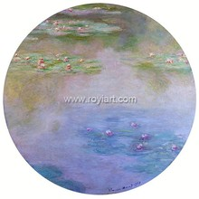 Claude Monet copy painting of famous artist of Water Lilies 1907