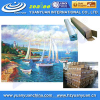 Best sales! YUANYUAN painting art canvas, linen stretched canvas