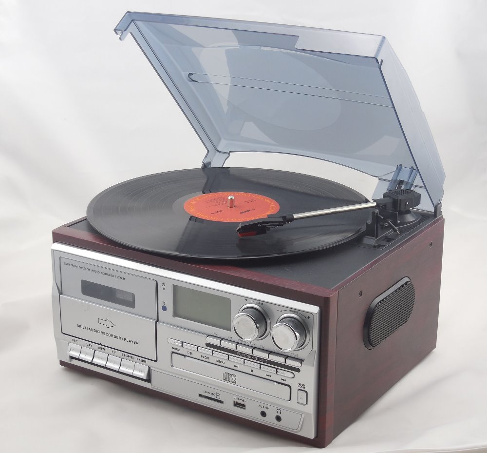 TR-18CD turntable player ,vinyl -to-mp3 recording for sale