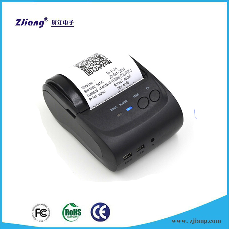 Portable Mini Hand Size POS Printer/5802LD Portable Handheld 58mm Small Android OS Wireless Bluetooth Thermal Receipt Printer